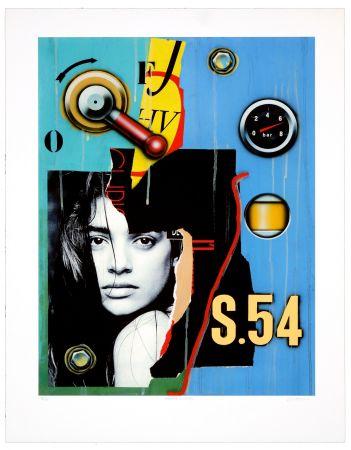 Numeric Print Klasen - Manette/regard/S.54