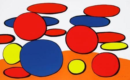 Lithograph Calder - Manhole Cover
