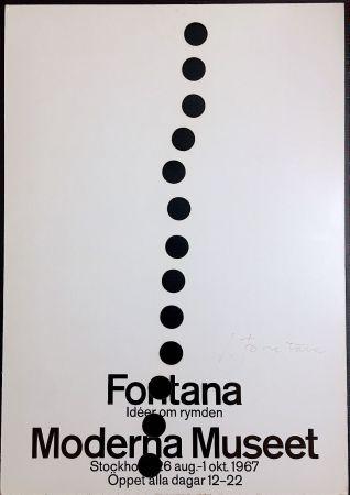 Screenprint Fontana - Manifesto