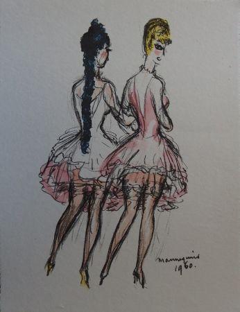 Lithograph Van Dongen - Mannequins 1960