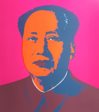 Screenprint Warhol (After) - Mao