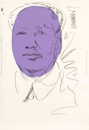 Screenprint Warhol - Mao