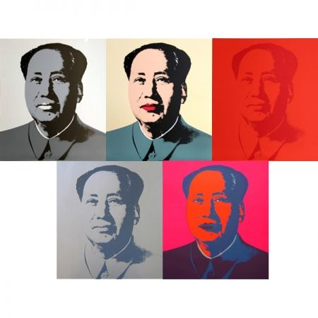 Screenprint Warhol (After) - Mao - Portfolio