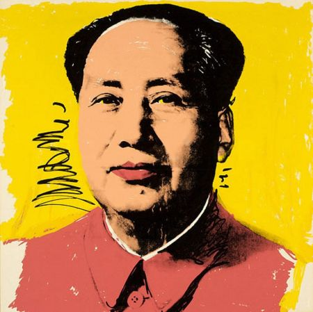 Screenprint Warhol - Mao (FS II.97)
