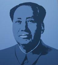 Screenprint Warhol (After) - Mao grey