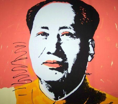 Screenprint Warhol (After) - Mao orange