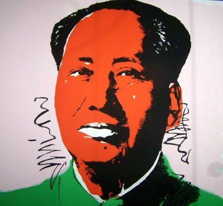 Screenprint Warhol (After) - Mao orange vert