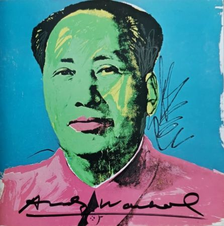 Screenprint Warhol - MAO Tse Tung invitation Castelli