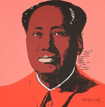 Screenprint Warhol - Mao Zedong