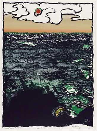 Lithograph Alechinsky - Marée Haute