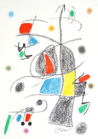 Lithograph Miró - Maravillas