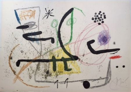 Lithograph Miró - Maravillas con Varaciones Acrosticas