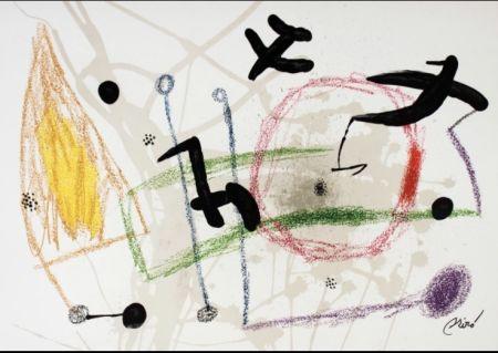 Lithograph Miró - Maravillas con variaciones 5