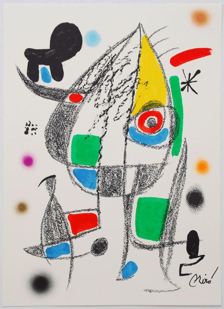 Lithograph Miró - Maravillas Con Variaciones Acrósticas En El Jardín De Miró