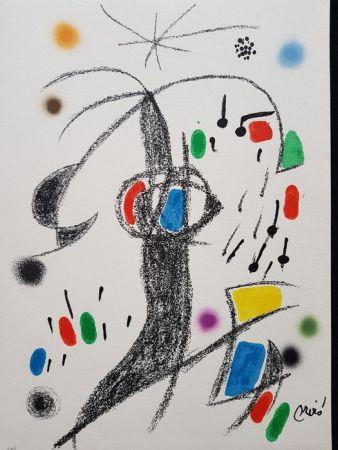 Lithograph Miró - Maravillas con variaciones acrósticas en el jardín de Miró - 19
