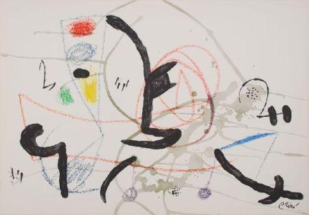 Lithograph Miró - Maravillas con variaciones acrosticas