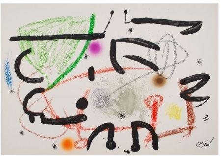 Lithograph Miró - Maravillas con variaciones acrosticas 15
