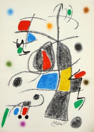 Lithograph Miró - Maravillas con variaciones acrosticas 17
