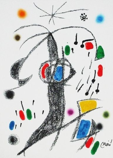 Lithograph Miró - Maravillas con variaciones acrosticas 19