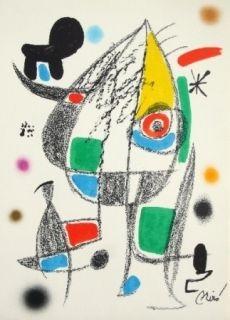 Lithograph Miró - Maravillas con variaciones acrosticas 20