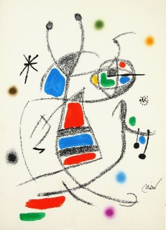 Lithograph Miró - Maravillas con variaciones acrosticas 8