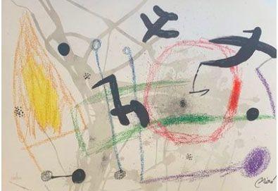 Lithograph Miró - Maravillas con variaciones acrosticas en el jardin de Miro V