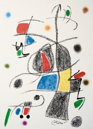 Lithograph Miró - Maravillascon variaciones arcrosticas17