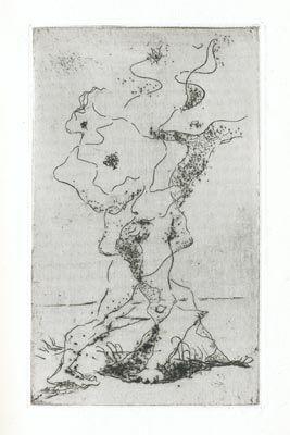 Engraving Masson - Marcel Jouhandeau : Ximenès Malinjoude