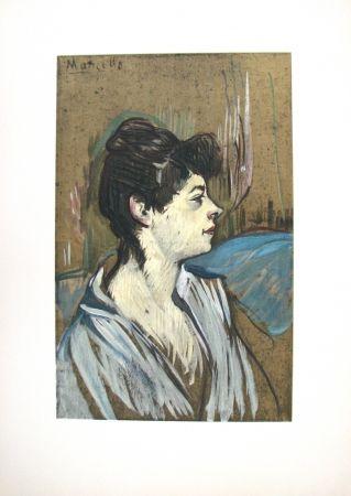 Lithograph Toulouse-Lautrec - Marcelle
