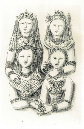 Illustrated Book Campigli - Marco Polo. Il Milione. Litografie Di Massimo Campigli.