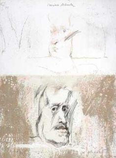 Lithograph Bru - Mariana destinada Velasquez