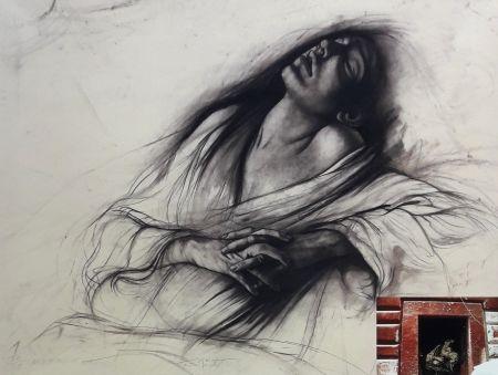 Lithograph Pignon-Ernest - Marie Madeleine