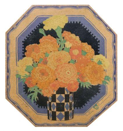 Woodcut Baumann - Marigolds (a.k.a. Sunny Messengers)