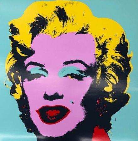 Screenprint Warhol - Marily VII
