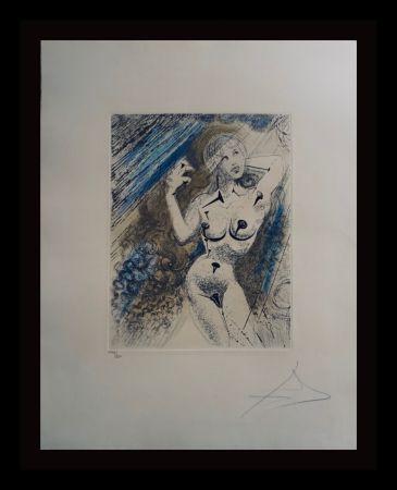 Etching Dali - Marilyn