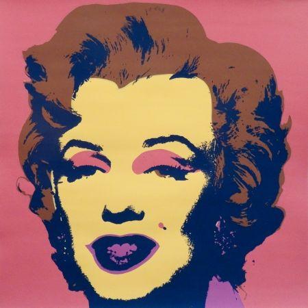 Screenprint Warhol - Marilyn