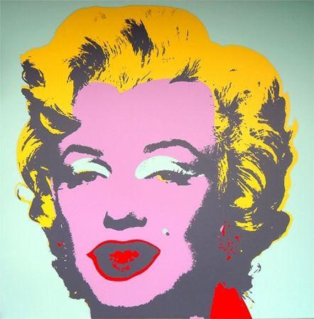Screenprint Warhol (After) - Marilyn 11.23