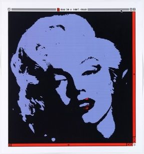 Lithograph Pusenkoff - Marilyn // 30