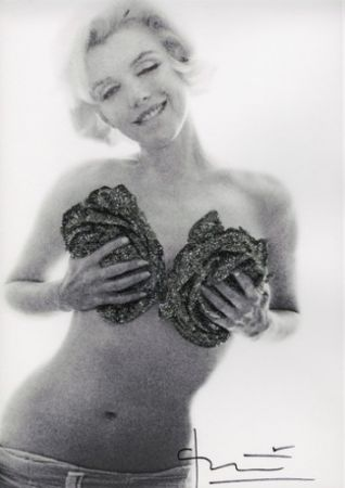 Photography Stern - Marilyn Black silver wink roses