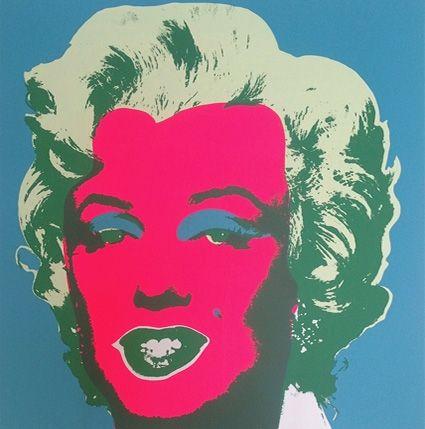 Screenprint Warhol (After) - Marilyn ( by Sunday B. Morning )