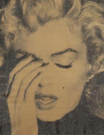 Screenprint Young - Marilyn Crying