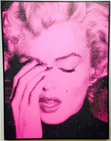 Screenprint Young - Marilyn Crying