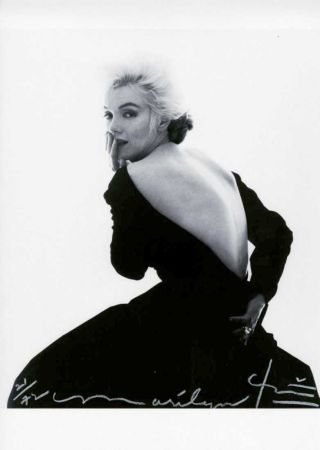 Photography Stern - Marilyn, Dior Dress II