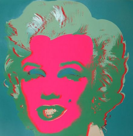Lithograph Warhol - Marilyn FS II.30