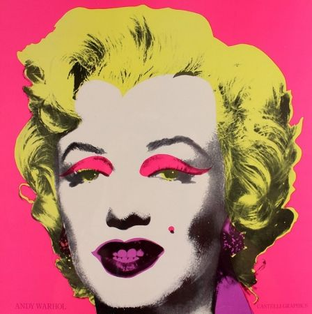 Screenprint Warhol - Marilyn Gastelli Graphics