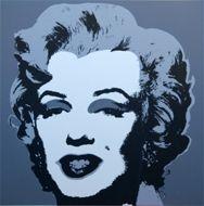 Screenprint Warhol - Marilyn grey