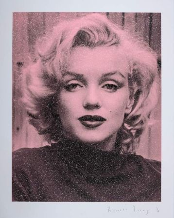 Screenprint Young - Marilyn Hollywood - Superstar Pink