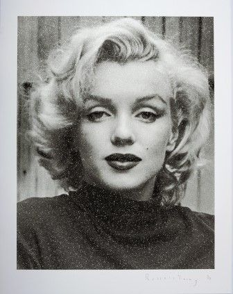 Screenprint Young - Marilyn Hollywood (Black & White)