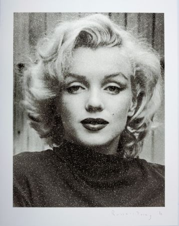 Screenprint Young - Marilyn Hollywood B+W