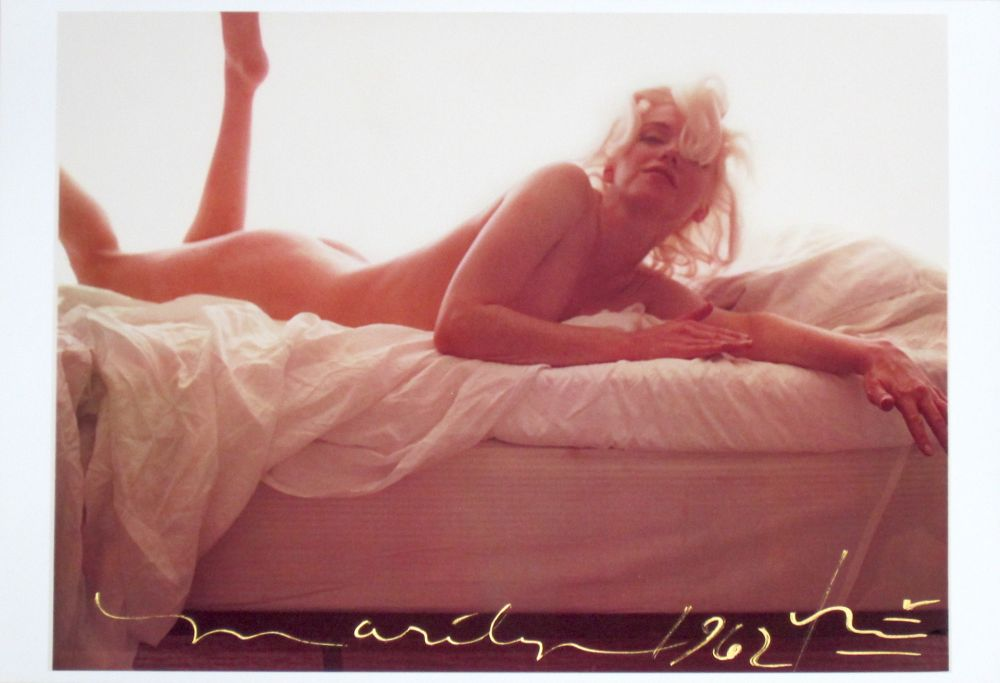 Photography Stern - Marilyn in Bed I